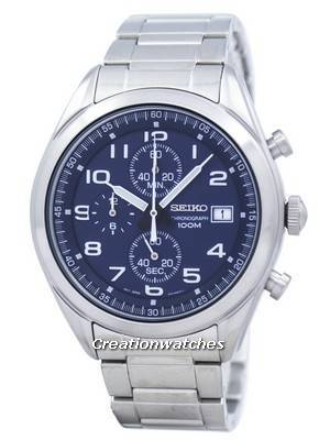Seiko Chronograph Quartz SSB267 SSB267P1 SSB267P Men's Watch