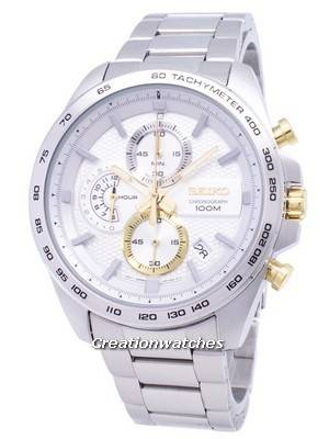 Seiko Neo Sports Chronograph Quartz SSB285 SSB285P1 SSB285P Men's Watch