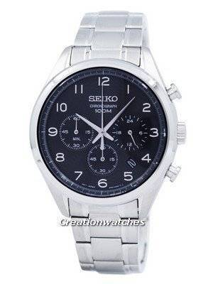 Seiko Classic Chronograph Quartz SSB295 SSB295P1 SSB295P Men's Watch