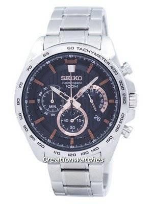 Seiko Chronograph Quartz Tachymeter SSB307 SSB307P1 SSB307P Men's Watch
