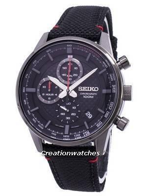 Seiko Sports Chronograph Tachymeter Quartz SSB315 SSB315P1 SSB315P Men's Watch
