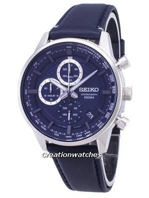Seiko Chronograph SSB333 SSB333P1 SSB333P Quartz Men's Watch