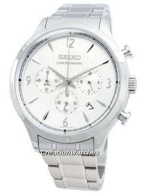 Relógio Seiko Chronograph SSB337P SSB337P1 SSB337 de quartzo para homem