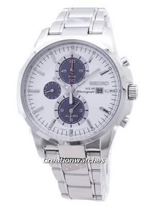Seiko Solar Chronograph SSC083P1 SSC083P SSC083 Mens Watch