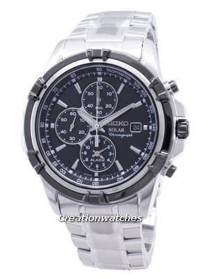 Seiko Solar Chronograph SSC147 SSC147P1 SSC147P Men\'s Watch