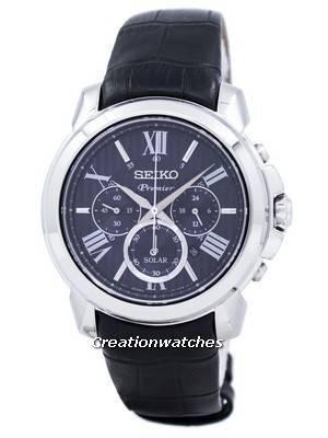 Relógio Seiko Premier Solar Cronógrafo SSC597P2
