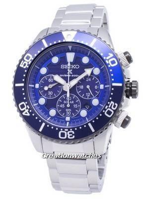 Seiko Prospex SSC675 SSC675P1 SSC675P Diver's 200M Chronograph Men's Watch