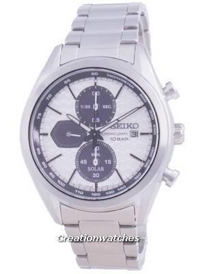 Relógio masculino Seiko Descubra Mais Chronograph Solar SSC769 SSC769P1 SSC769P 100M