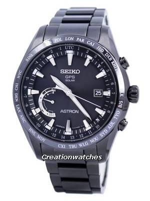 Seiko Astron GPS Solar World Time Japan Made SSE089 SSE089J1 SSE089J Men's Watch