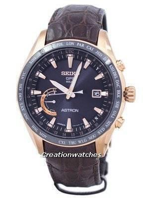 Seiko Astron GPS Solar Power Reserve SSE096 SSE096J1 SSE096J Men's Watch