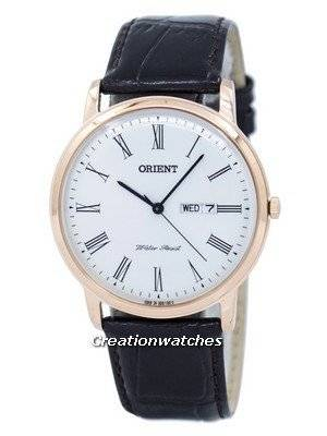 Orient Classic Capital Version 2 Quartz Japan Made SUG1R006W6 Men's Watch