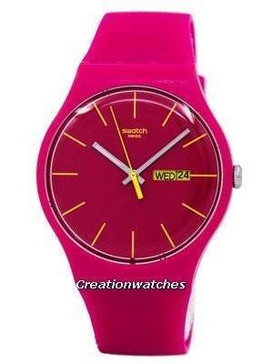 Swatch Originals Rubine Rebel Quartz SUOR704 Unisex Watch