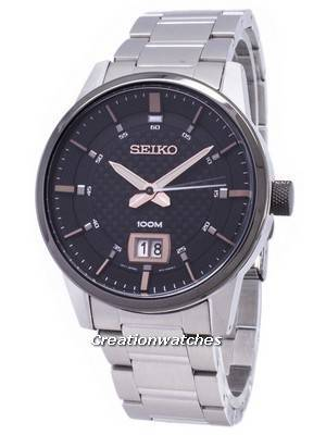 Seiko Quartz SUR285 SUR285P1 SUR285P Analog Men's Watch