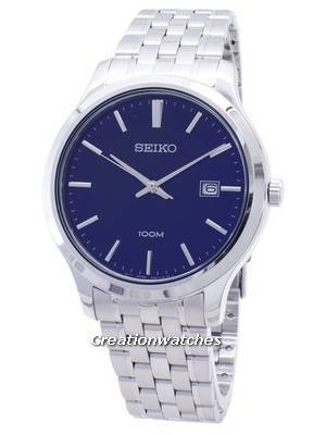 Seiko Neo Classic SUR291 SUR291P1 SUR291P Quartz Analog Men's Watch