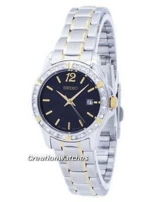 Seiko Quartz Diamond Accent SUR716 SUR716P1 SUR716P Women's Watch