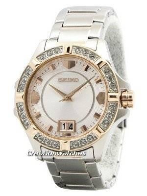 Seiko Lord Quartz Crystals White Dial SUR804 SUR804P1 SUR804P Women's Watch