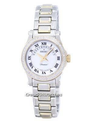Seiko Premier Ladies Diamond SXD774P1 SXD774 with 48 diamonds
