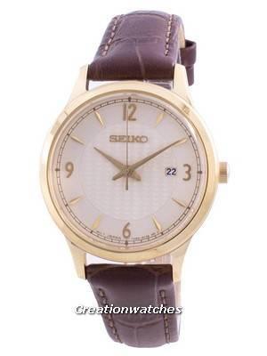 Seiko Classic SXDG96 SXDG96P1 SXDG96P Quartz 100M Women\'s Watch