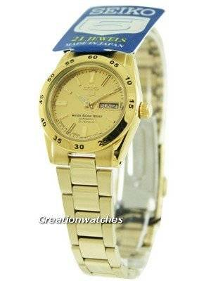 Seiko 5 Automatic 21 Jewel SYMG44 SYMG44J1 SYMG44J Women's Watch