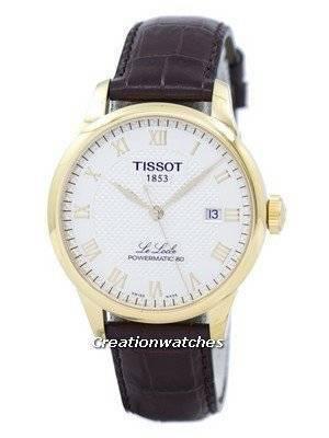 Relógio Tissot T-Classic Le Locle Powermatic 80 Automático T006.407.36.263.00 T0064073626300