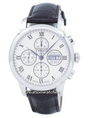 Tissot T-Classic Le Locle Valjoux Chronograph T006.414.16.263.00 T0064141626300 Men's Watch