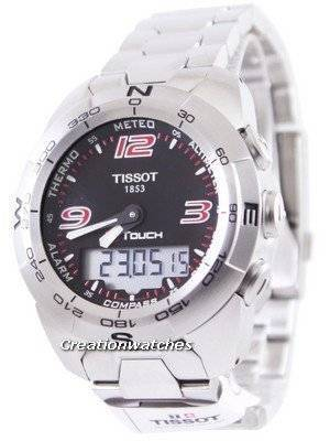 Tissot T-Touch Expert Analog-Digital T013.420.11.057.00 T0134201105700 Men's Watch