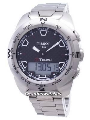 Tissot T-Touch Expert Titanium T013.420.44.201.00 T0134204420100 Compass Men\'s Watch