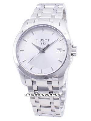 Tissot T-Classic Couturier Senhora T035.210.11.031.00 T0352101103100 Quartz Relógio Feminino