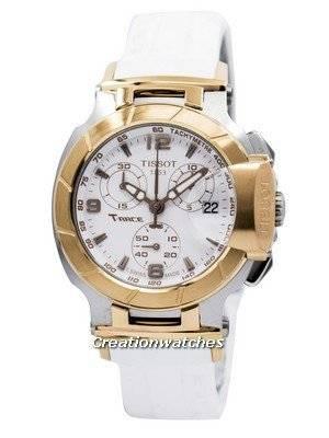 Tissot T-Race Chronograph T048.217.27.017.00 T0482172701700 Women's Watch