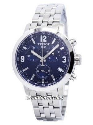 Tissot PRC 200 Quartz Chronograph T055.417.11.047.00 T0554171104700 Men\'s Watch