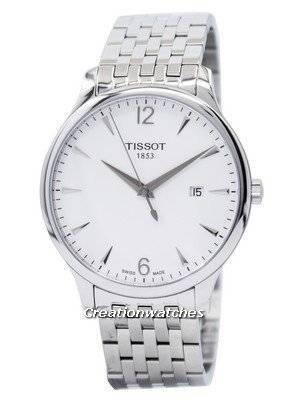 Quartzo Tissot T-Classic Tradition T063.610.11.037.00 T0636101103700 Relógio Masculino