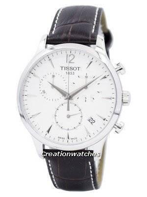 Cronógrafo Tissot Tradition T063.617.16.037.00 T0636171603700 Relógio Masculino