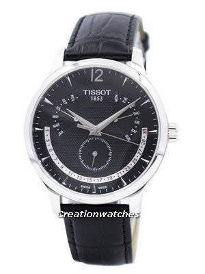 Tissot Tradition Perpetual Calender T063.637.16.057.00 T0636371605700 Men's Watch