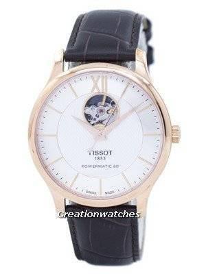 Tissot T-Classic Tradição Coração Aberto Automático T063.907.36.038.00 T0639073603800 Relógio Masculino