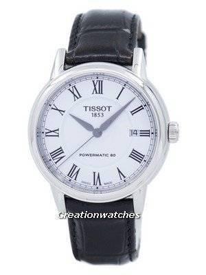 Tissot T-Classic Carson Powermatic 80 T085.407.16.013.00 T0854071601300 Men's Watch