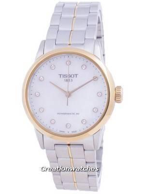 Tissot Luxury Lady Powermatic 80 Diamond Accents Automatic T086.207.22.116.00 T0862072211600 Women\'s Watch