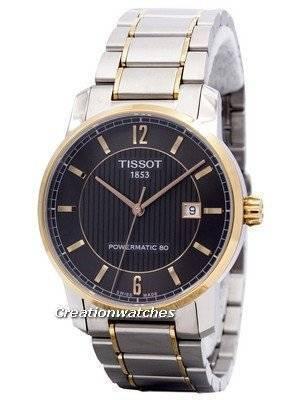 Tissot T-Classic Titanium Automatic T087.407.55.067.00 T0874075506700 Men's Watch