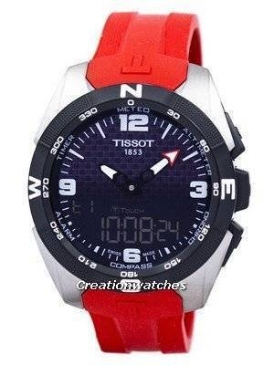 Tissot T-Touch Expert Solar Alarm T091.420.47.057.00 T0914204705700 Men's Watch