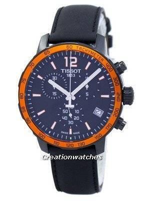 Tissot Quickster Chronograph Tachymeter Quartz T095.417.36.057.01 T0954173605701 Men's Watch