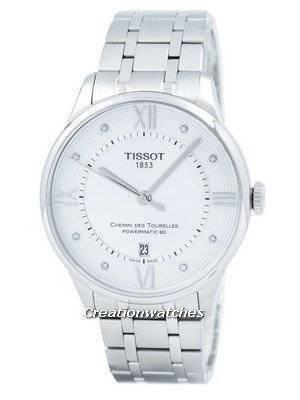 Tissot T-Classic Chemin Des Tourelles Powermatic 80 T099.407.11.033.00 T0994071103300 Men's Watch
