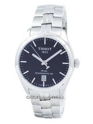 Tissot T-Classic PR 100 Powermatic 80 Automatic T101.407.11.051.00 T1014071105100 Men's Watch