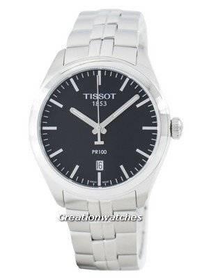 Tissot T-Classic PR 100 Quartzo Swiss Made T101.410.11.051.00 T1014101105100 Relógio Masculino