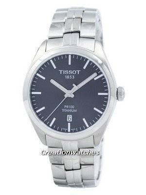 Tissot T-Classic PR 100 Titanium Quartz T101.410.44.061.00 T1014104406100 Men's Watch