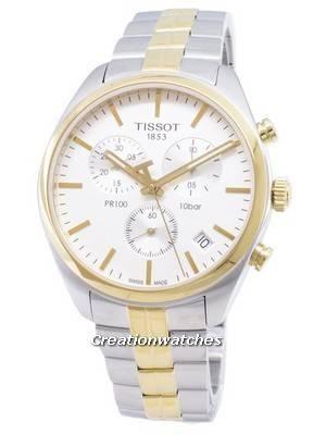 Relógio Tissot T-Classic PR 100 T101.417.22.031.00 T1014172203100 Relógio de Quartzo Cronógrafo