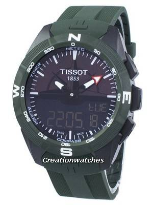 Tissot T-Touch Expert Solar II Quartz T110.420.47.051.00 T1104204705100 Men's Watch