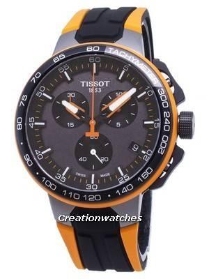 Tissot T-Sport Ciclismo T-Race T111.417.37.441.04 T1114173744104 Relógio Masculino Cronógrafo