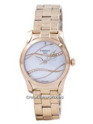 Tissot T-Lady T-Wave Quartz Diamond Accent T112.210.33.111.00 T1122103311100 Women's Watch