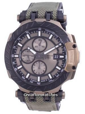 Tissot T-Race Chronograph Automatic T115.427.37.091.00 T1154273709100 100M Men\'s Watch