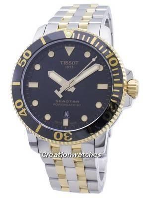 Tissot T-Sport Seastar 1000 T120.407.22.051.00 T1204072205100 Powermatic 80 300M Men's Watch