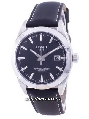 Tissot Gentleman Powermatic 80 Silicium Automatic T127.407.16.051.00 T1274071605100 100M Men\'s Watch